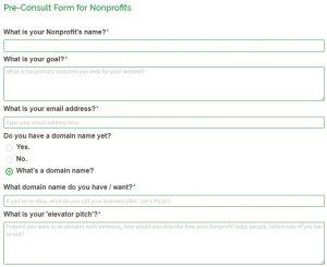 Pre-Consult Form